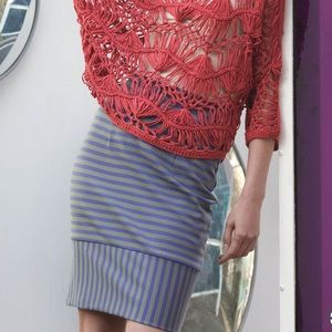Anthropologie Tracy Reese Striped Pencil Skirt